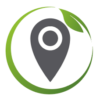 Logo indiquant une position locale pour illustrer la volonté d'Angie Be Green de privilégier les collaborations avec des acteurs locaux, ultra locaux.