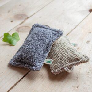 éponge lavable coton