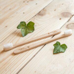 brosse à dents en bois